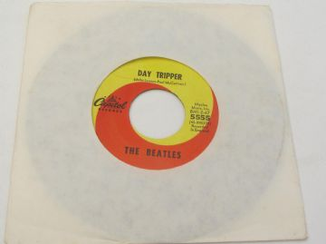 "Beatles (The) WE CAN WORK IT OUT / DAY TRIPPER 1965 US 7"" EX AUDIO"